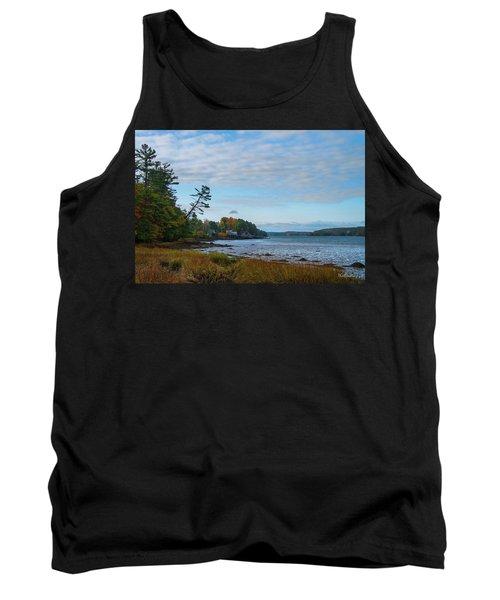 The Maine Coast Near Edgecomb  Tank Top