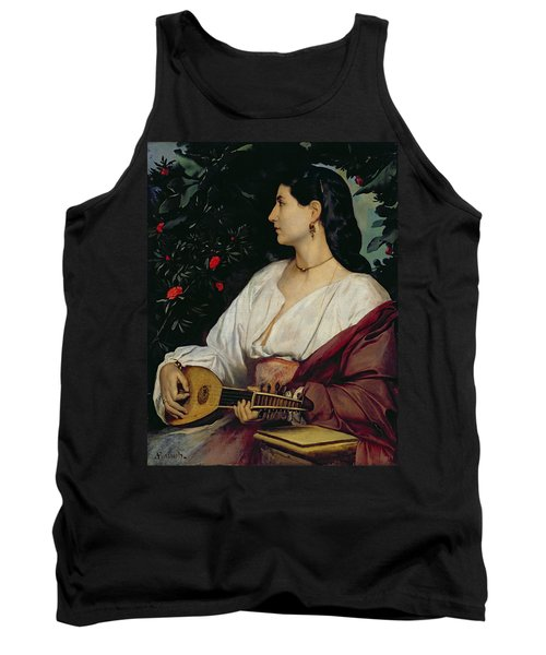 The Mandolin Player Tank Top