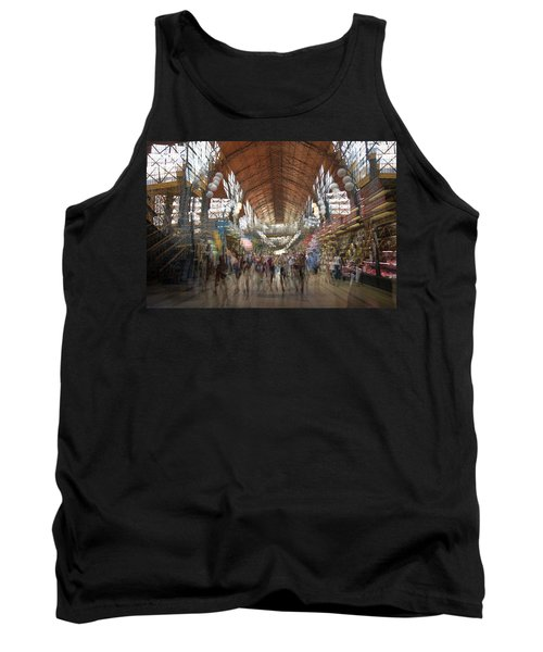 Tank Top featuring the photograph The Market Hall by Alex Lapidus