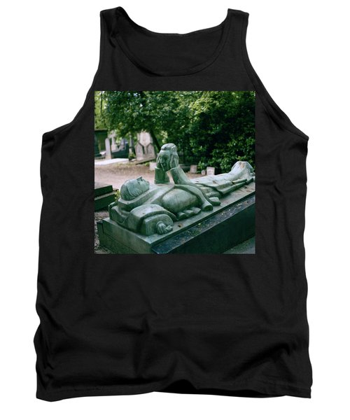 The Mask Of Meditation Tank Top by Shaun Higson