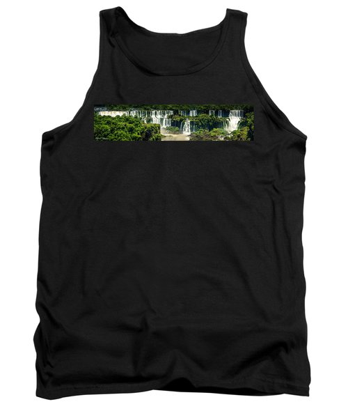 Tank Top featuring the photograph The Mighty Iguazu  by Andrew Matwijec