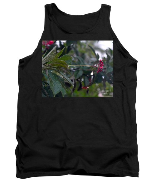 Tank Top featuring the photograph The Morning Kiss by Irma BACKELANT GALLERIES