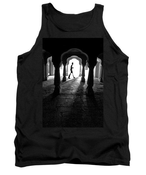 The Mystery Man Tank Top