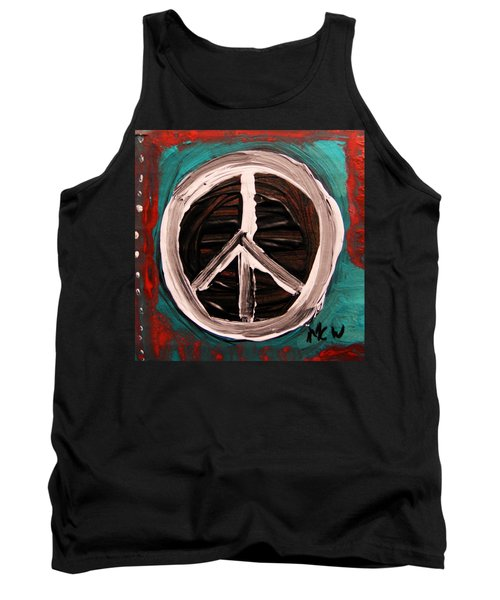 Tank Top featuring the painting The Need Continues by Mary Carol Williams