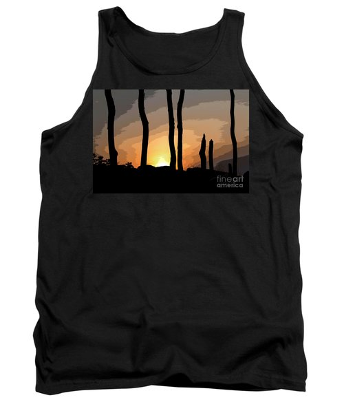 The New Dawn Tank Top by Tom Cameron