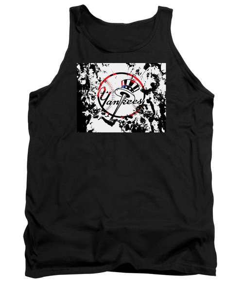 The New York Yankees 1b Tank Top by Brian Reaves