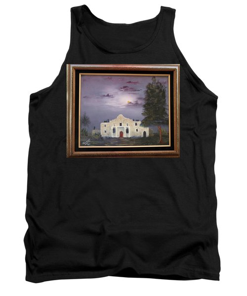 Tank Top featuring the painting The Night Before by Al Johannessen