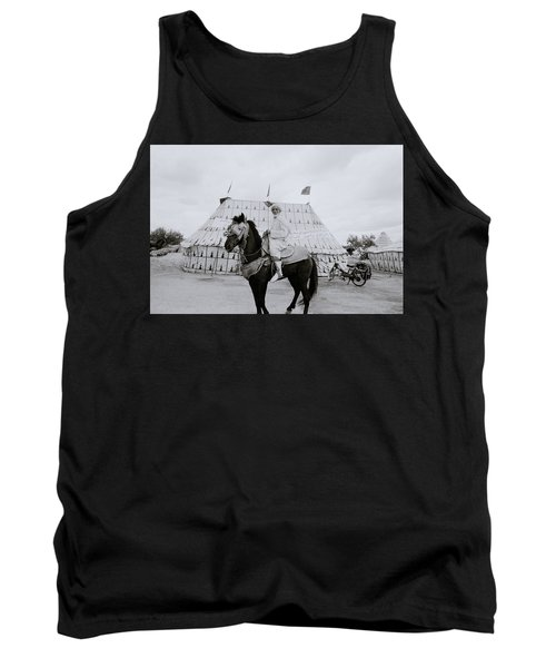 The Noble Man Tank Top by Shaun Higson