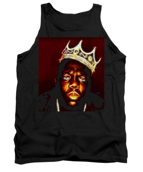 The Notorious B.i.g. - Biggie Smalls Tank Top by Paul Ward
