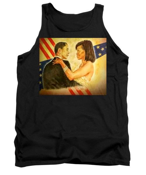 Barack And Michelle Tank Top