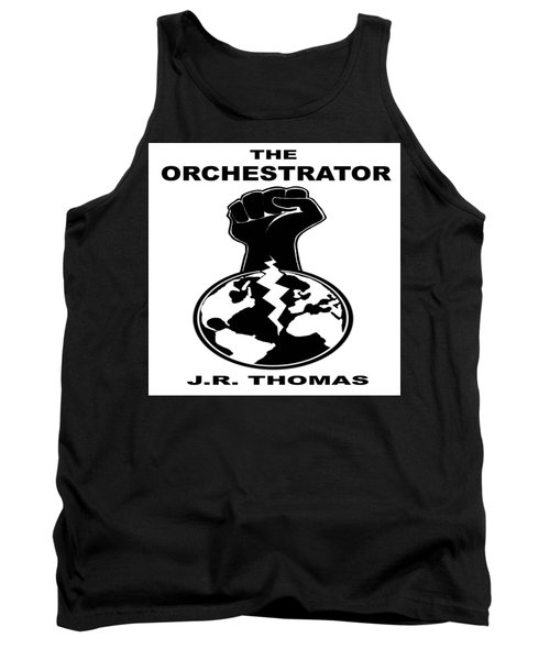 Tank Top featuring the digital art The Orchestrator Cover by Jayvon Thomas