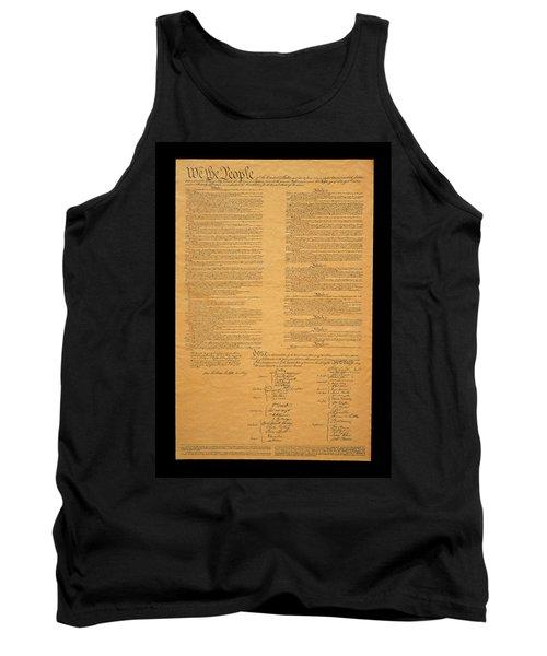 The Original United States Constitution Tank Top