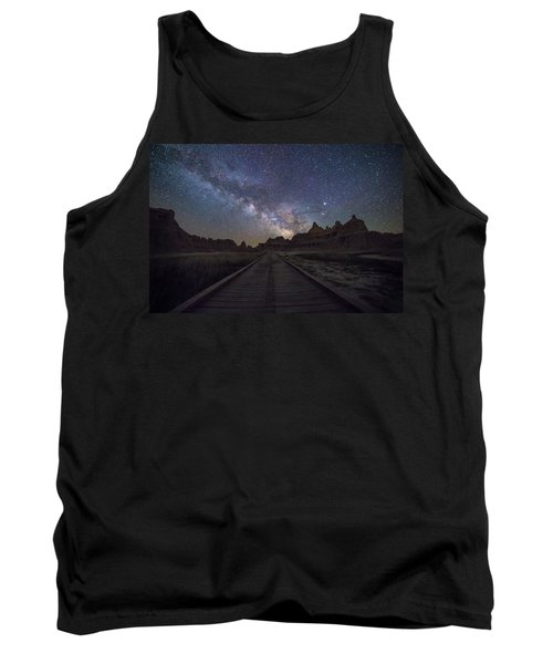 Tank Top featuring the photograph The Path by Aaron J Groen