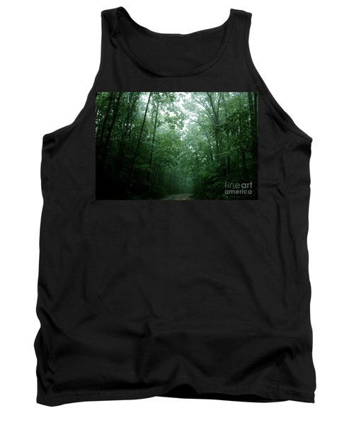 The Path Ahead Tank Top by Clayton Bruster