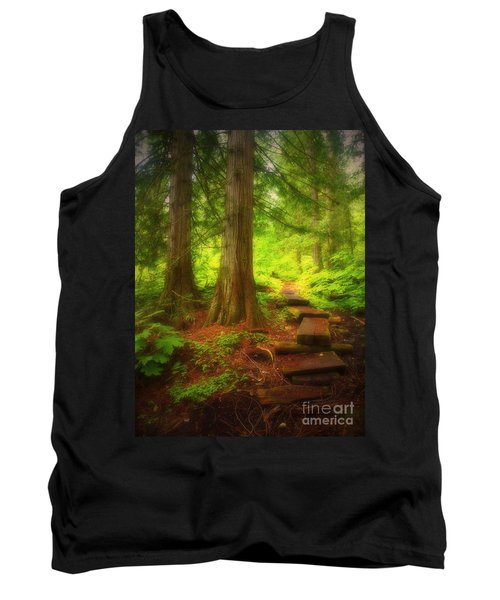 The Path Through The Forest Tank Top