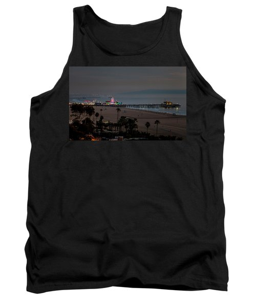 The Pier After Dark Tank Top