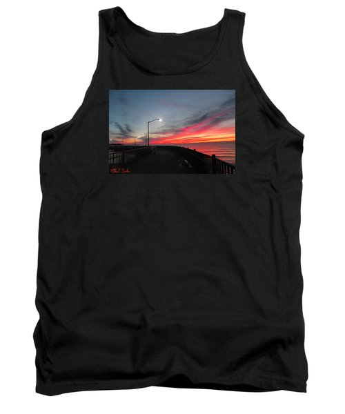 Tank Top featuring the photograph The Pier by Michael Rucker