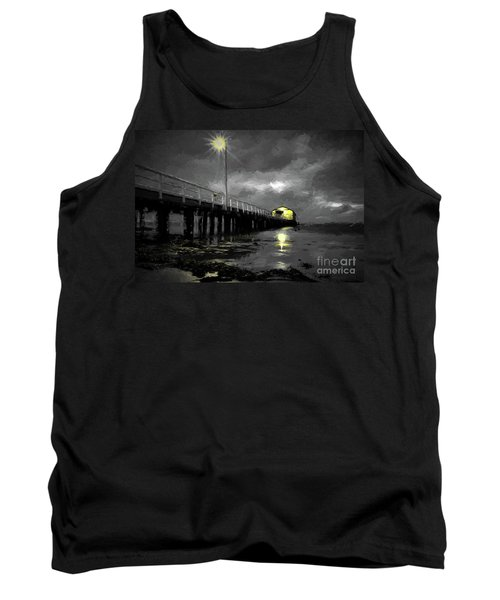 The Pier On The Bay Tank Top