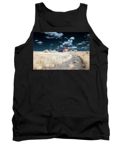 The Pink House In Halespectrum 1 Tank Top