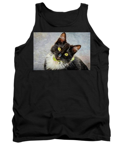 The Portrait Of A Cat Tank Top