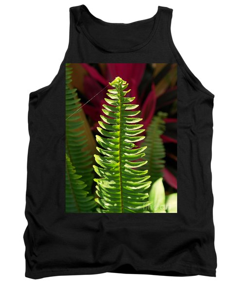 Tank Top featuring the photograph The Power Of One by Irma BACKELANT GALLERIES