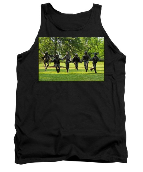 The Puddle Jumpers At Byers Choice Tank Top