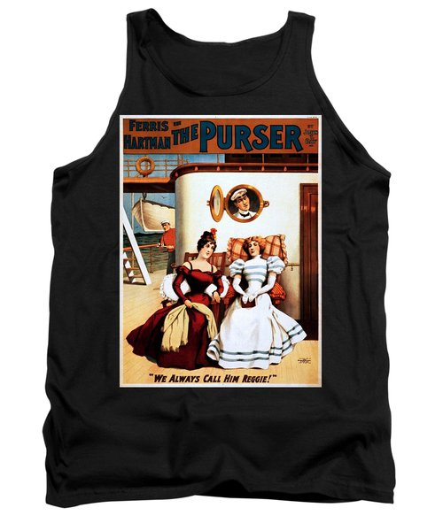 The Purser, Theatrical Poster, 1898 Tank Top