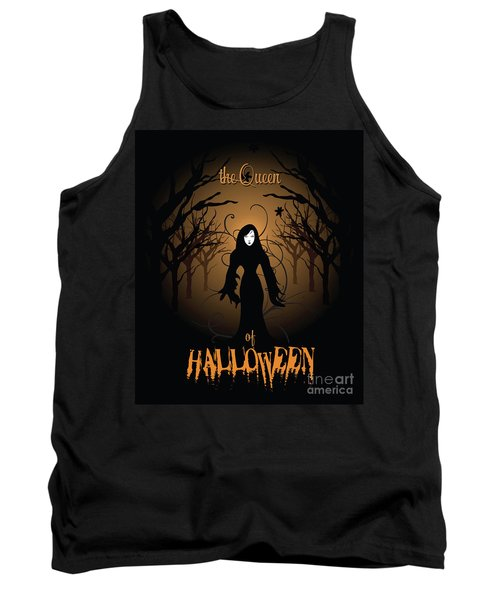 The Queen Of Halloween Witchy Woman Tank Top