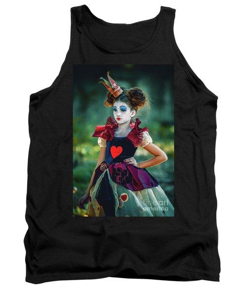 The Queen Of Hearts Alice In Wonderland Tank Top