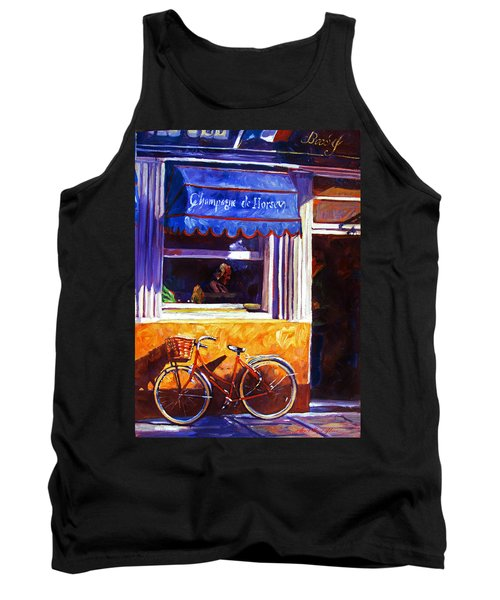The Red Bicycle Tank Top