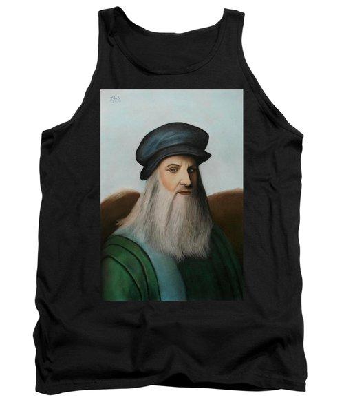 The Master Of Renaissance - Leonardo Da Vinci  Tank Top