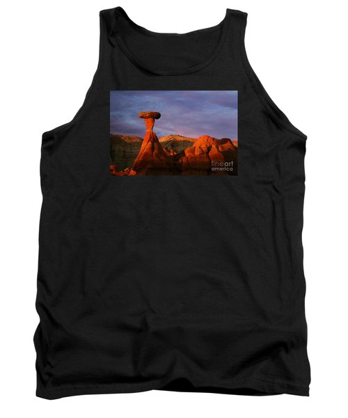 Tank Top featuring the photograph The Rim Rocks by Keith Kapple