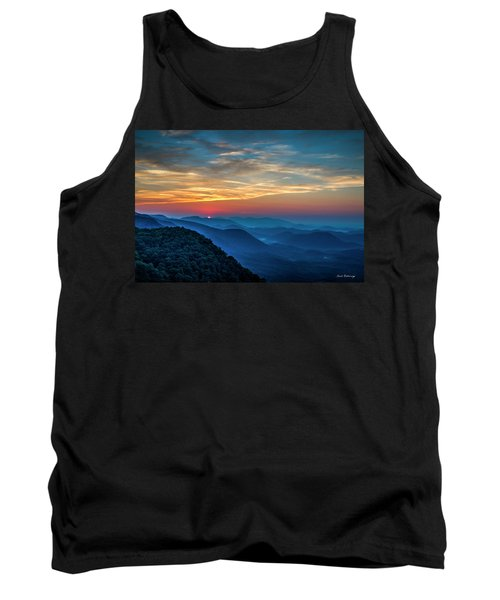 The Rising Sun Pretty Place Chapel Greenville S C Great Smoky Mountain Art Tank Top