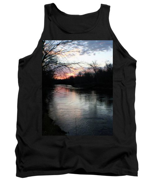 The River At Sunset Tank Top