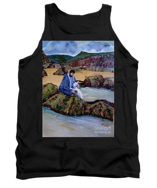 The Rock Pool - Painting Tank Top