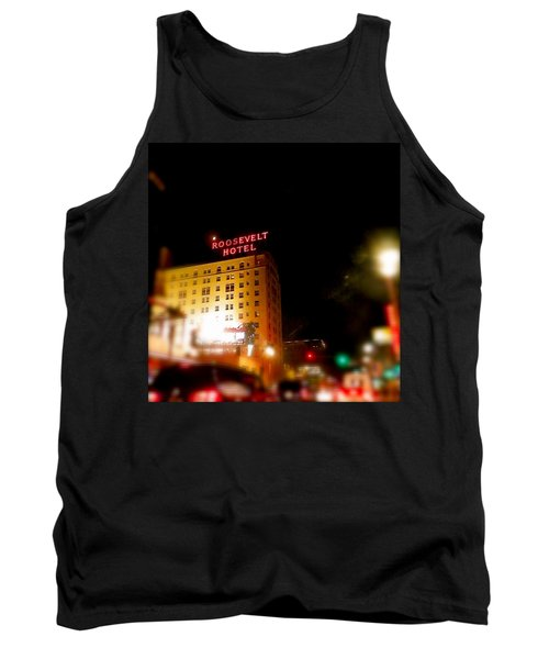 The Roosevelt Hotel By David Pucciarelli  Tank Top
