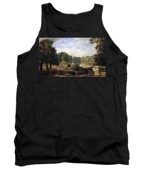The Serpentine Tank Top by Jasper Francis Cropsey