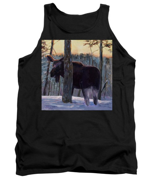 Tank Top featuring the painting The Shy One by Billie Colson
