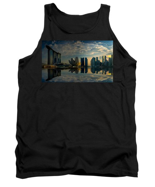The Singapore Skyline Tank Top