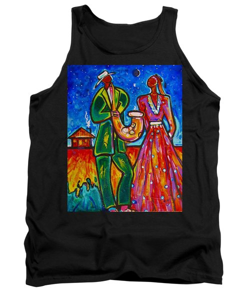 Tank Top featuring the painting The Spirt Of Memphis by Emery Franklin
