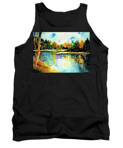 The Splendor And  Color Of Autumn Tank Top by Al Brown