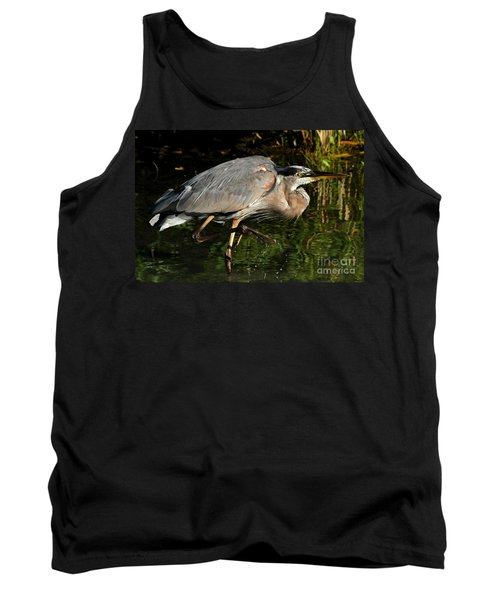 Tank Top featuring the photograph The Stalker by Heather King