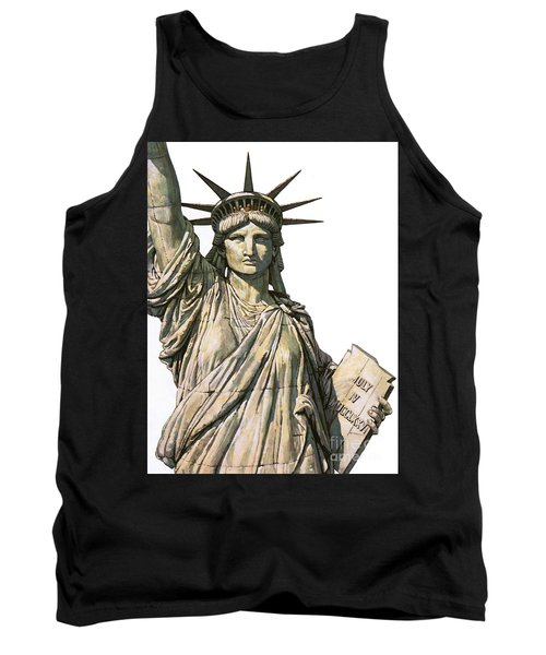 The Statue Of Liberty On Bedloe's Island, New York Tank Top