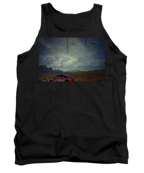 The Story Goes On  Tank Top by Mark Ross