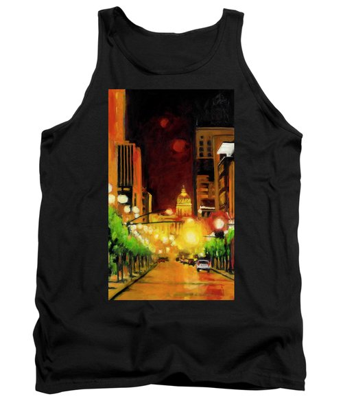 The Streets Run With Crimson And Gold Tank Top