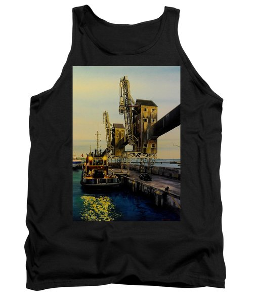 The Sugar Towers Of Barbados Tank Top