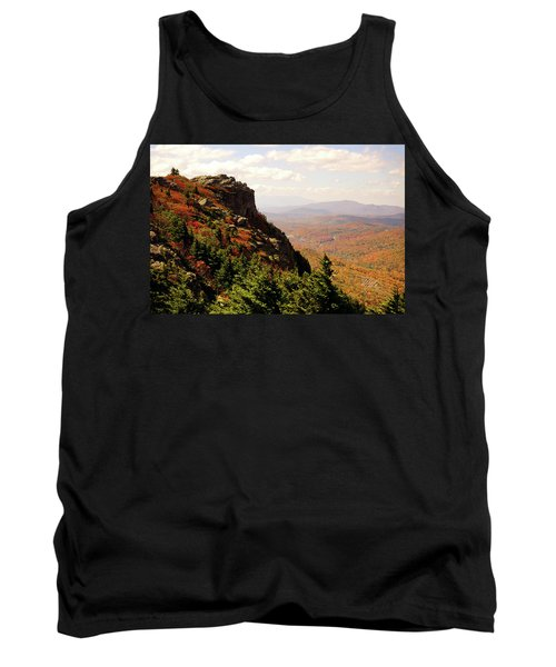 Tank Top featuring the photograph The Summit In Fall by Meta Gatschenberger