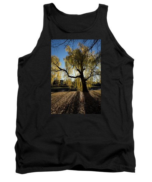 The Sun Goes Through Tank Top by Celso Bressan
