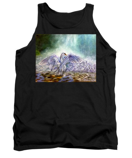 The Swan's Song Tank Top