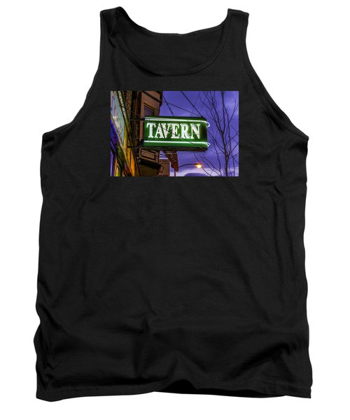 The Tavern On Lincoln Tank Top by Raymond Kunst